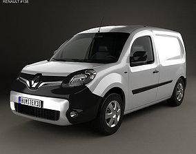 3D model Renault Kangoo Van 2014