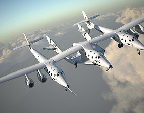 Virgin Galactic Shuttle 3D model
