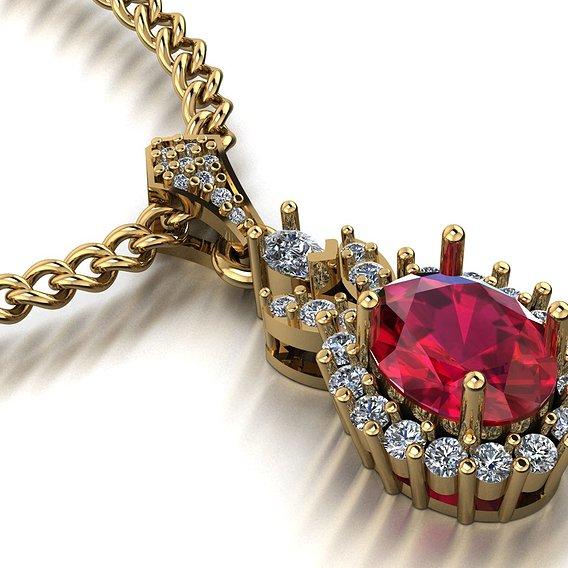 oval women pendants