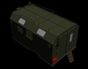 GAZ 66 Kung corps 3D model