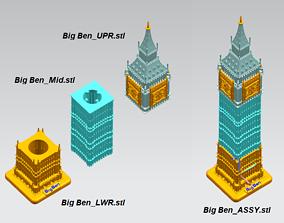 3D printable model Big Ben in London
