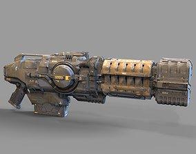 robot Doom Eternal Plasma Rifle Printable Model