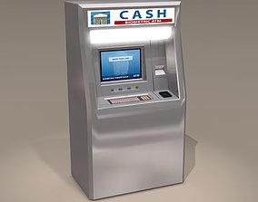 3D model Biometric ATM