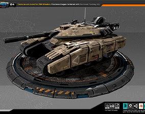 RTS Light Tank - 04 3D asset