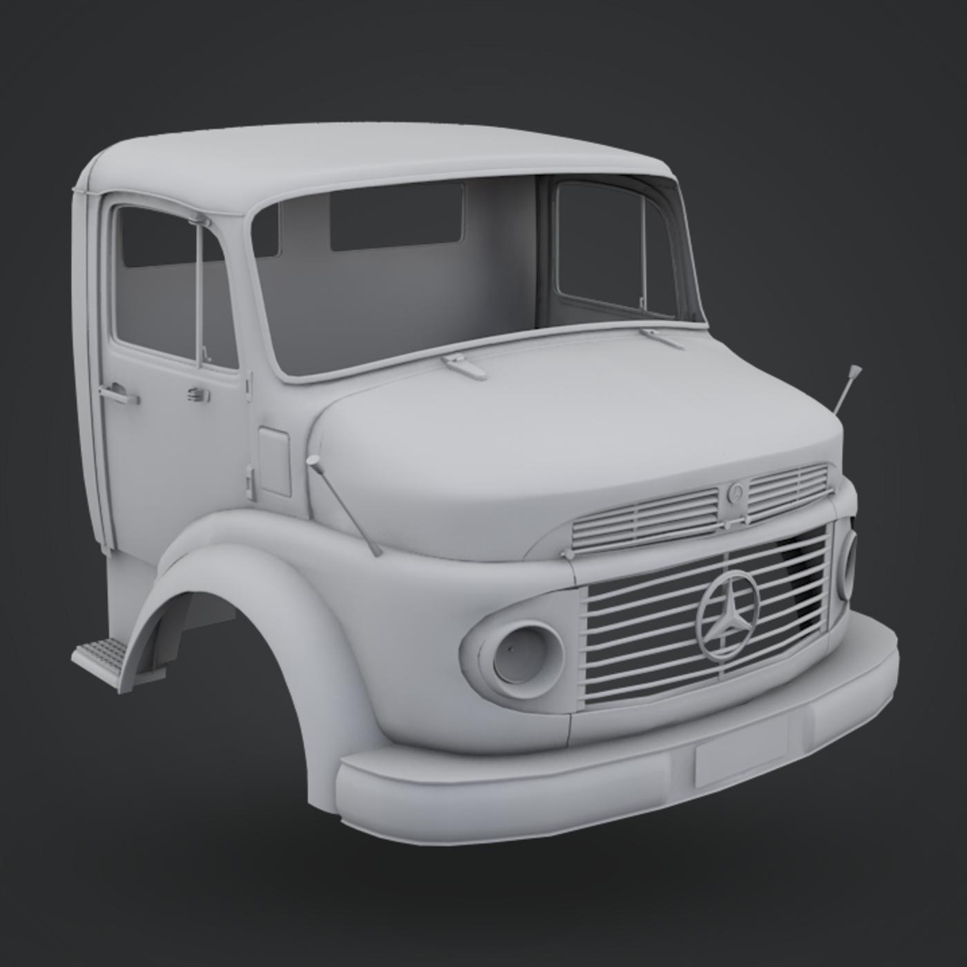 Mercedes-Benz Truck 1924-2624 Cabin