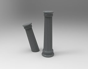 Greek pillar 3D printable model