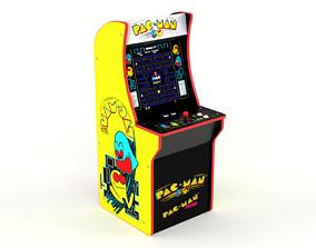 3D model Pacman Arcade Machine