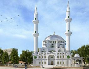 3D Turkish Mosque