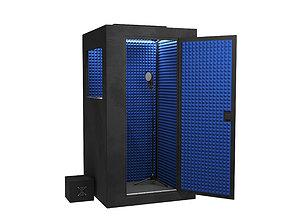 3D model Sound isolation cabin