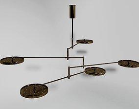 holly hunt lamp 3D asset
