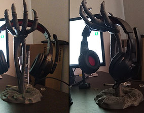 3D print model Halloween headphone stand