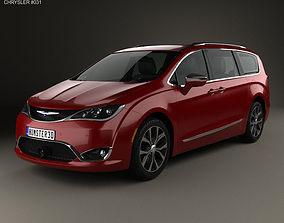 2019 Chrysler Pacifica 2017 3D model