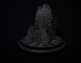 The Iron Throne 3D model