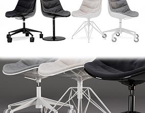 3D model Flow Chair set2