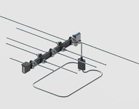 3D asset Antene