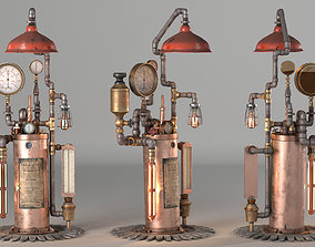 3D model Phister Chamber Steampunk Lamp