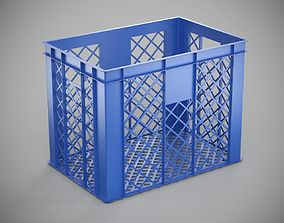 3D model Plastic Storage Crate