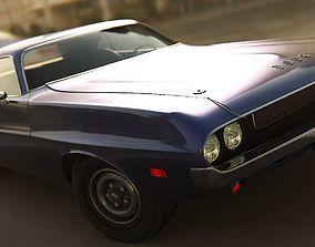 1970 Challenger T A 3D asset