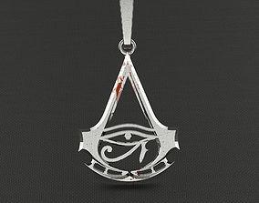 Pendant Assassins creed origins 3D print model