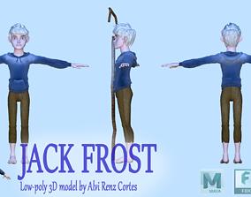 3D asset Jack Frost