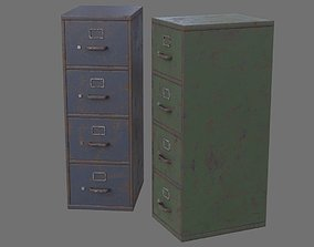 3D model Filing Cabinet 1C