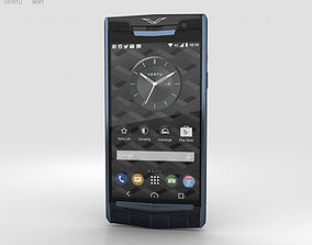 3D Vertu Signature Touch 2015 Pure Navy