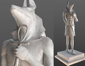AnubisSculpture 3D model
