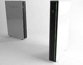 Tesla Powerwall house battery 3D model