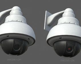 3D asset Dome Security Camera