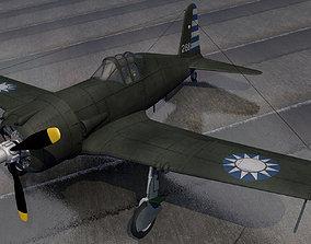 Vultee P-66 Vanguard 3D model