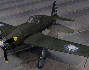 3D Vultee P-66 Vanguard