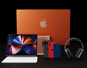 3D Ultimate Apple 2020 and 2021 Products Bundle Collection