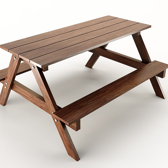wood table PBR