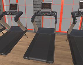 Treadmill 3D model exercise-equipment