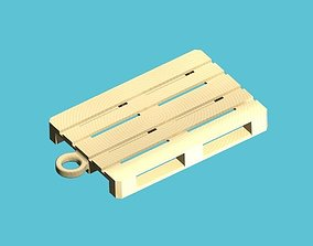 Pallet Keychain 3D printable model