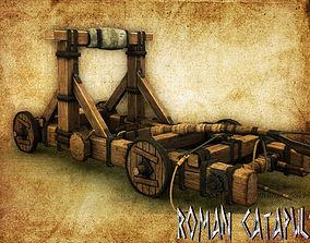 3D model Roman Catapult