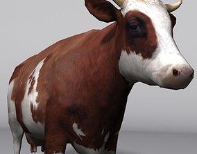 animal cow 3D model