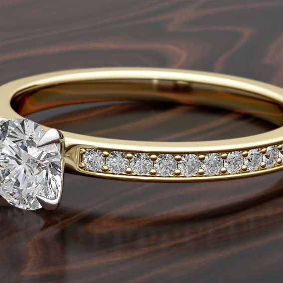 Engagement Pave Ring