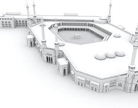 masjid al haram mecca saudi arabia 3D model