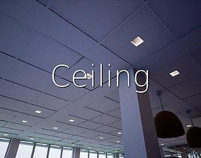 3D asset Ceiling SHC Quick Office
