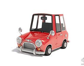 3D model Toy car audio-device