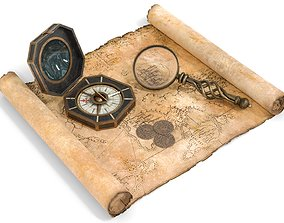 3D Ancient Treasure Hunter Kit 2