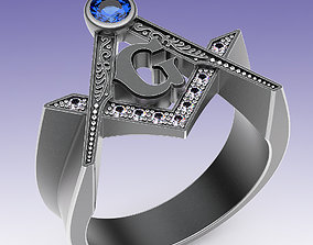 Ring Mason 3D printable model confraternity