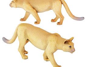 Figurine Puma 3D