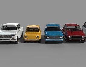 ZASTAVA CARS 3D