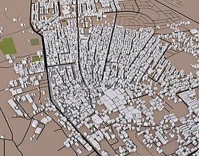 Gaza City of Palestine 3D model