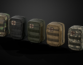 Individual Firs Aid Kit -IFAK 3D model