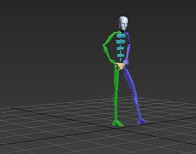 catwalk woman 2 3D model