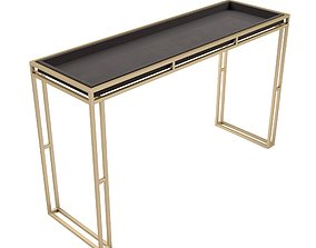 Uttermost - Cardew Console Table 3D asset