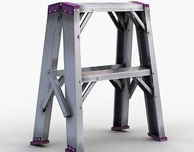 step-stool Stepladder 3D model